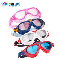 大框游泳眼镜男童女童小孩游泳装备 儿童泳镜