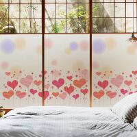 静电玻璃贴纸移门卫生间浴室阳台儿童房橱窗遮光防晒窗户贴膜
