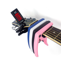 ?伊诺ENO吉他调音器变调夹二合一通用民谣吉他夹子变调夹调音器? 9