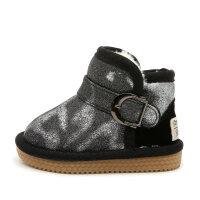 儿童雪地靴宝宝鞋2018冬季新款保暖雪地棉靴子男童鞋女冬鞋