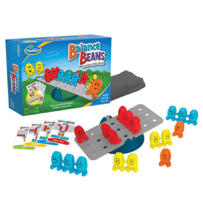 美国thinkfun豆你玩平衡豆儿童益智玩具亲子游戏宝宝早教4-6-10岁