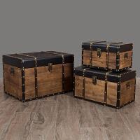 复古收纳储物箱橱窗装饰摆设箱模特摄影道具箱红酒杂志收纳整理箱
