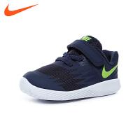 耐克nike童鞋18新款婴幼童训练鞋宝宝学步鞋男童跑步鞋防滑透气宝宝鞋 (0-4岁可选) 907255 404