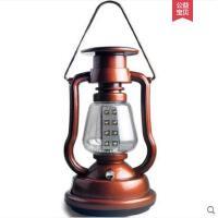 照明应急灯手摇野营灯户外营地灯复古怀旧马灯充电LED太阳能帐篷灯吊灯