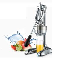商用手动榨汁机不锈钢压榨机 水果压汁机 家用果汁机 不锈钢