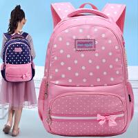小学生书包女童1-3一年级公主可爱双肩包女孩4-6年级轻便背包