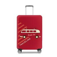 行李箱保护套拉杆箱套旅行箱防尘皮套20/24/28/30寸弹力加厚耐磨