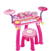 架子鼓玩具�和��子琴�菲鞒�W者����敲打鼓1-3-6�q男孩女孩