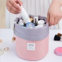 圆筒式防水大容量旅行洗漱包 旅游女士化妆包 韩国大容量化妆袋