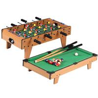 桌上台球冰球桌球足球机35游戏台6桌面儿童玩具8男孩