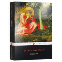 忏悔录 英文原版 人物传记 Confessions 英文版经典文学名著 古罗马哲学家 圣奥古斯丁自传 宗教神学 进口英