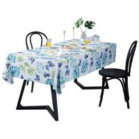 pvc桌布防水防�C防油免洗塑料桌�|茶��|�_布餐桌布茶�撞奸L方形