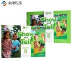原版进口牛津大学出版社幼儿英语教材 show and tell 2级别入门级 3-6岁幼儿英语书籍 pyp国际幼儿园书