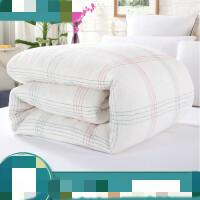 棉絮被芯学生宿舍床垫被子1米5床褥棉胎垫被1米8棉花被春秋被