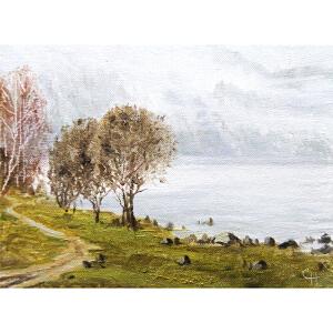 0557  克拉斯诺雅斯克美协画家协会会员  尼古莱《雾》
