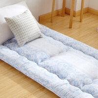 全棉加厚床垫榻榻米1.2米床垫褥子学生宿舍0.9m单人地铺睡垫 180x200cm【全棉面料 家用款 5层结构 8