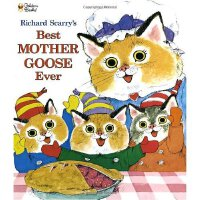 Richard Scarry's Best Mother Goose Ever (Giant Little Golde