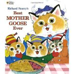 Richard Scarry's Best Mother Goose Ever (Giant Little Golden Book) 金色斯凯瑞-最好的鹅妈妈童谣(大开本金色童书) ISBN 9780307155788