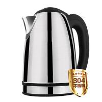 家用烧水壶茶壶电热水壶304不锈钢3l大容量 黑色