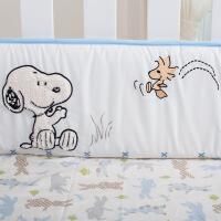 2018新品婴儿床上用品套件儿童四季通用床品宝宝透气防撞纯棉床围
