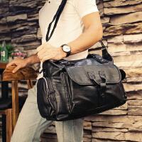 旅行包手提行李包大容量男女真皮休闲健身单肩短途旅游包男士潮牌 大