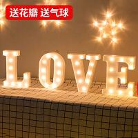 ins圣诞字母灯浪漫求婚道具表白装饰灯网红生日布置创意用品 LOVE 普通版