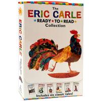 准备阅读系列艾瑞卡尔绘本6册盒装 英文原版绘本 The Eric Carle Collection Ready to