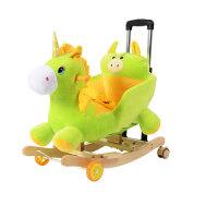 摇摇马儿童玩具两用摇摇车摇马宝宝周岁礼物儿童实木木马玩具