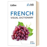 柯林斯法语图解词典 英文原版 Collins French Visual Dictionary 英语法语双语词典 全彩