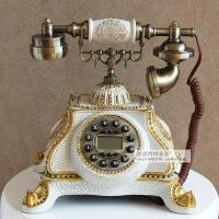 新款创意欧式复古电话有绳电话座式仿古工艺电话固定家用座机 TL0226WS