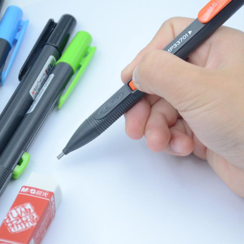晨光学生2b自动铅笔考试机读卡涂卡笔专用考试套装电脑答题卡填涂比芯套装 晨光品质!考试专用!