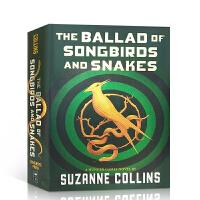 【全店300减100】现货 饥饿游戏前传小说 英文原版The Ballad of Songbirds and Snake