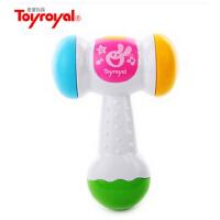 Toyroyal 日本皇室玩具 发光发声小锤子健身敲打益智玩具774玩具 发光发声小锤子健身敲打益智玩具774