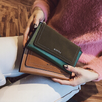 女士手拿钱包2018新款女韩版潮个性学生多功能中长款大容量钱夹