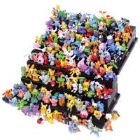 神奇宝贝公仔 口袋妖怪模型手办1-6代全套25-250个宠物小精灵模型玩具