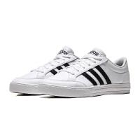 adidas阿迪达斯男子板鞋VSSET小白鞋休闲运动鞋BC0130