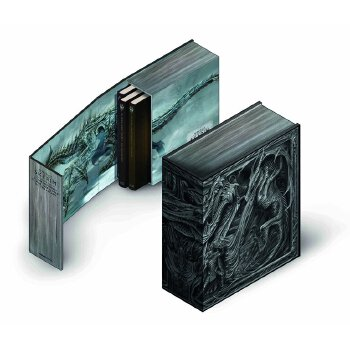 The Elder Scrolls V: The Skyrim Library - Volumes I, II & III 英文原版 上古卷轴5:天际卷1-3 精装收藏套装