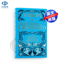 神奇动物在哪里2格林德沃之罪电影原著剧本小说英文原版FantasticBeasts Crimes of Grindel