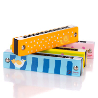 德国可来赛 口琴儿童 初学者 学生入门口琴16孔 迷你小口琴玩具
