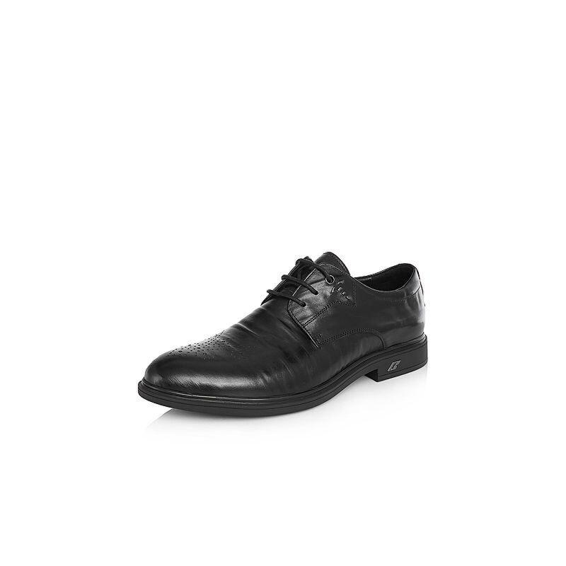 Belle/百丽2018春季新品专柜同款胎水牛皮革男皮鞋B3R07AM8
