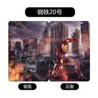 钢铁侠苹果新款ipad air/2保护套平板迷你5皮套mini4休眠创意外壳