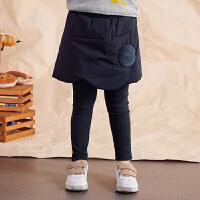 【券后�A估�r:113】�R拉丁童�b女童打底�外穿加厚保暖2020冬新款假�杉��A棉裙�