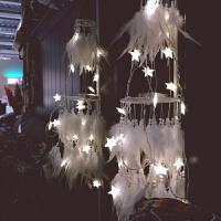 手工编织印第安羽毛捕补梦网风铃家居装饰挂件创意空中吊饰灯饰