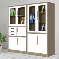 上海办公文件柜铁皮柜档案资料凭证柜书柜矮柜更衣柜员工储物柜子