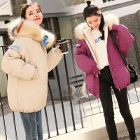 2018冬季新款女装羽绒外套短款小棉袄学生韩版时尚加厚棉衣