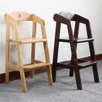儿童餐椅子实木可升降多功能大宝宝吃饭座椅成长学习桌椅高脚家用