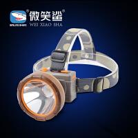 头戴式电筒灯LED强光头灯可充电蓝光远射矿灯