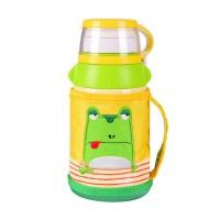 儿童水壶带吸管保温杯 宝宝男女学生便携防漏水杯子
