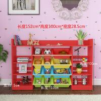 儿童书架玩具收纳架整理架置物架玩具收纳柜幼儿园储物柜超大容量