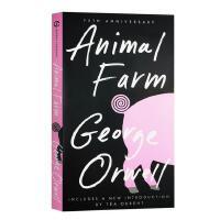 英文原版 动物农场庄园 Animal Farm George Orwell 全英文版小说 乔治奥威尔 经典英文名著 可